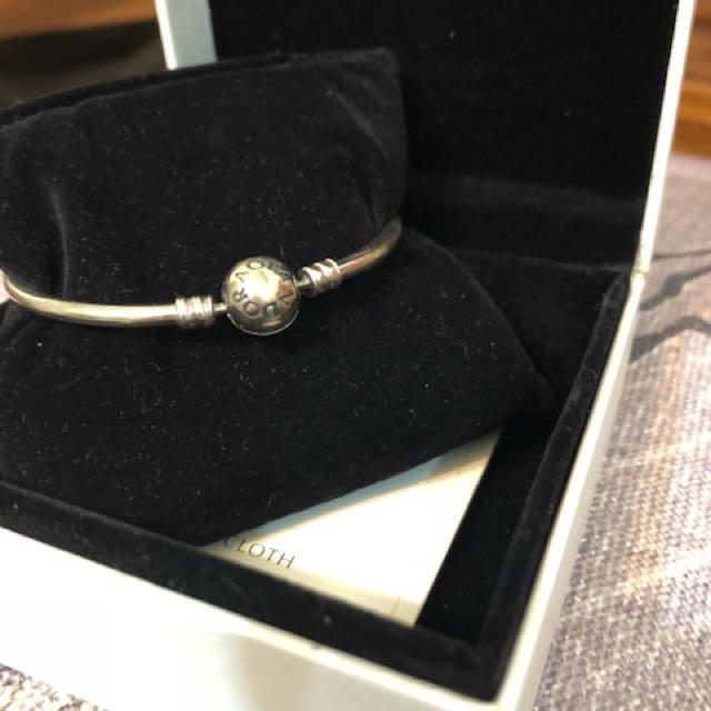 潘朵拉 手環 硬環