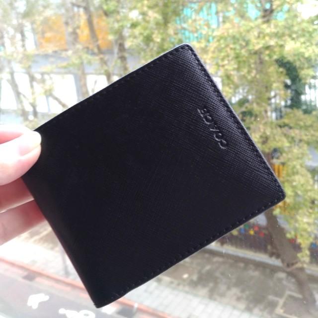 👍 短夾附零錢袋 COACH 男士短夾(雙層鈔票夾) 可放照片