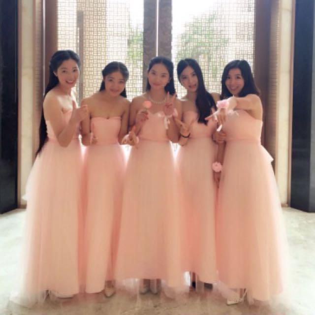 🌹 Bridesmaid Dress Baby Blush Pink