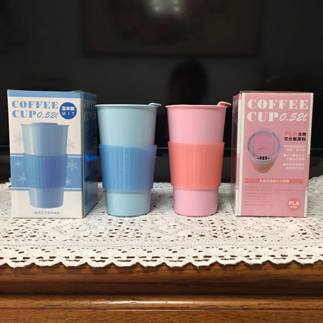 路易王子 COFFEE CUP 0.52L (玉米製)