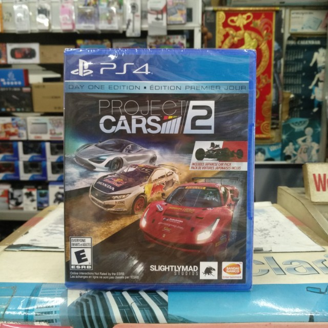 🆕 PS4 Project Cars 2 Day One Edition