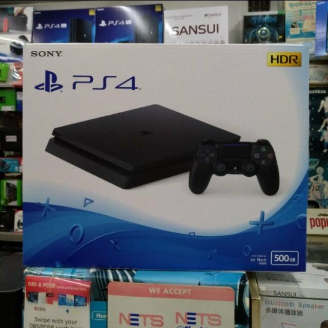 🆕 Sony PS4 Slim 500GB