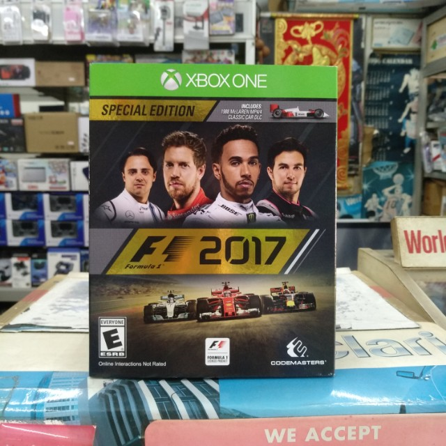 🆕 Xbox One F1 2017 Special Edition
