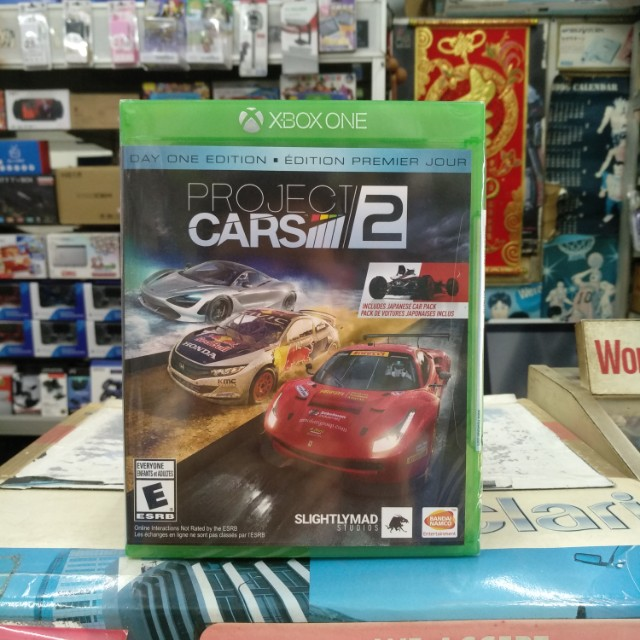 🆕 Xbox One Project Cars 2 Day One Edition