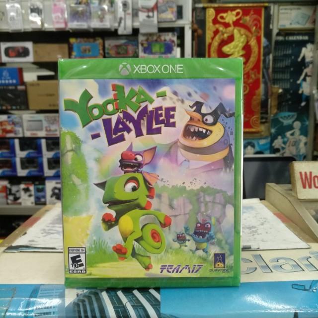 🆕 Xbox One Yooka-Laylee