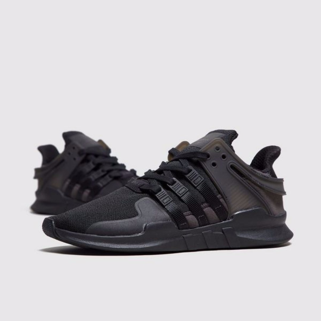 pretty nice 8d944 bde67 Adidas EQT Support ADV - Triple Black, Men's Fashion ...