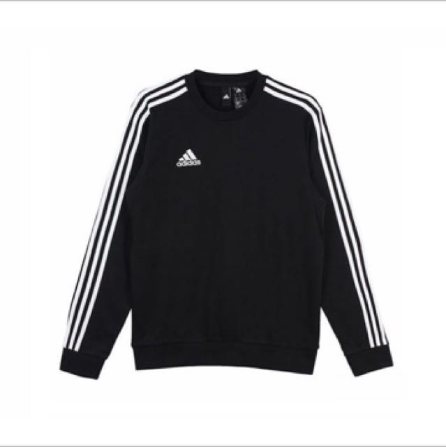 Adidas tan crew 三線長袖 BR1509