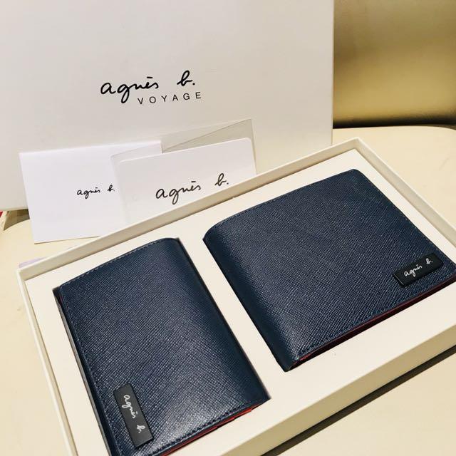 Agnes b 皮夾禮盒組