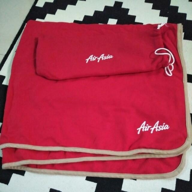 Air Asia Travel blanket
