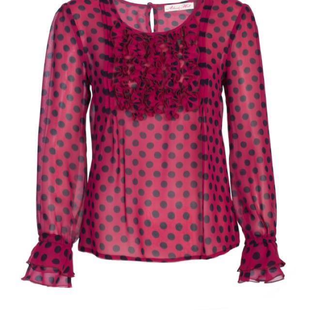 Alannah hill blouse size 6