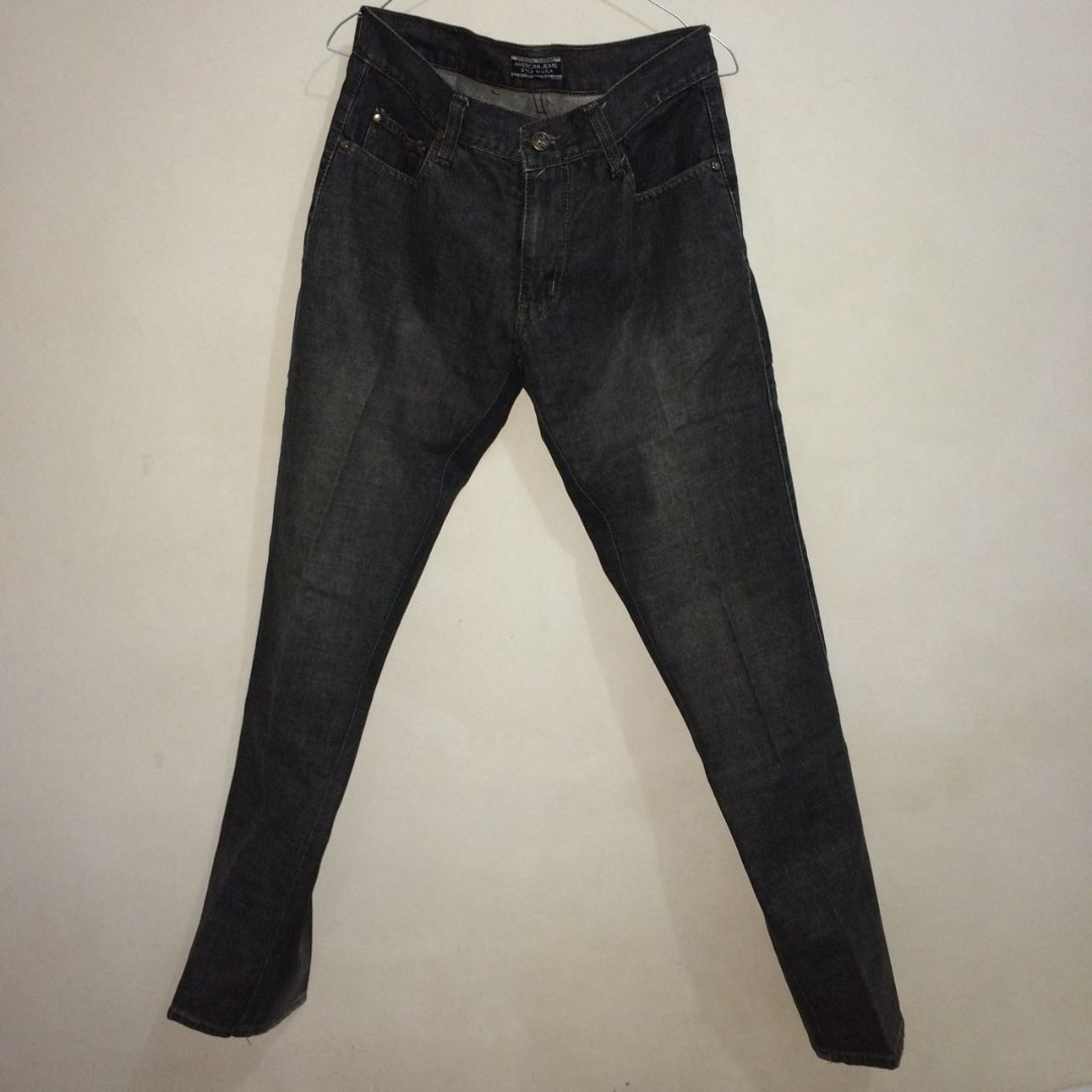 American Jeans Grey Color