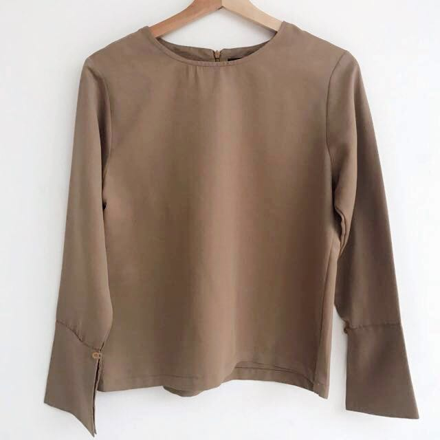 Ats The Label - Brown Long Sleeves