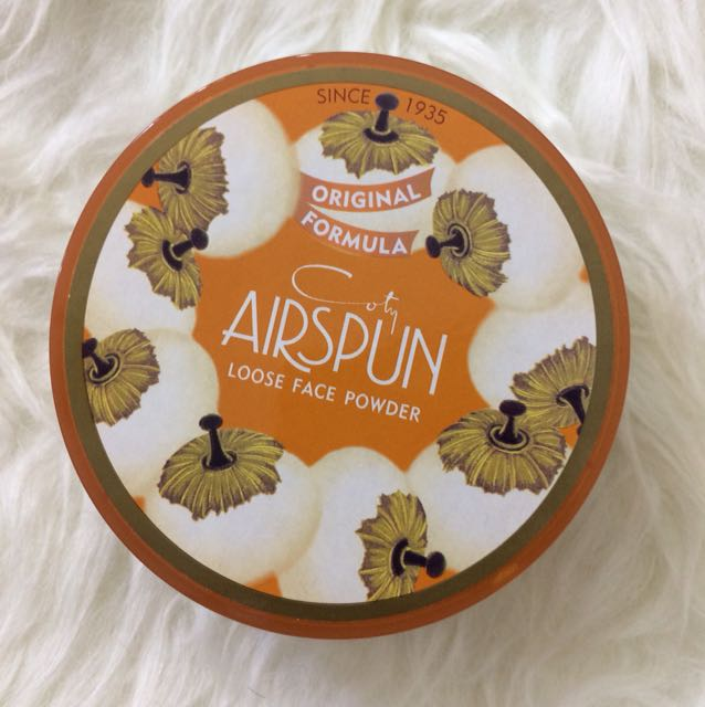 Authentic Coty Airspun Loose Face Powder