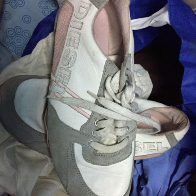 Authentic diesel shoes