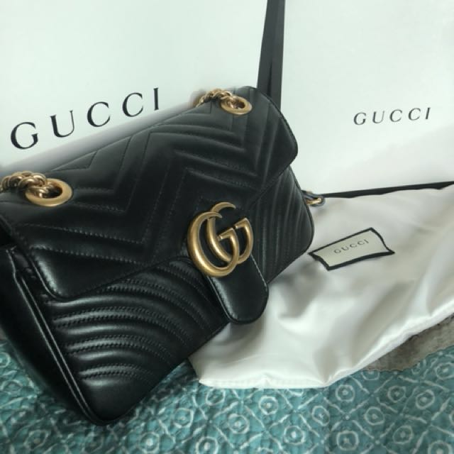 Authentic Gucci Marmont bag (small)