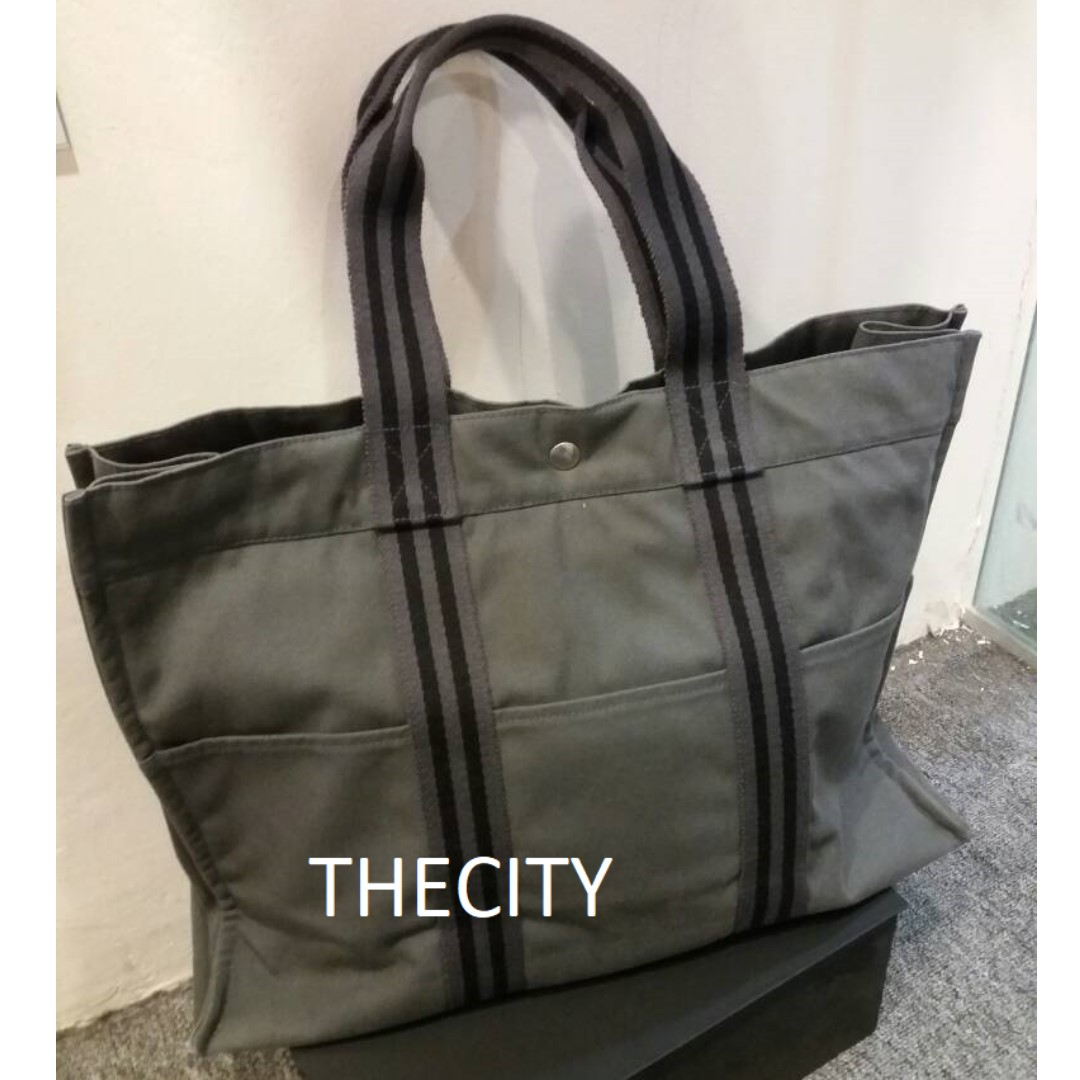 471cbe745add AUTHENTIC HERMES FOURRE TOUT TOTE