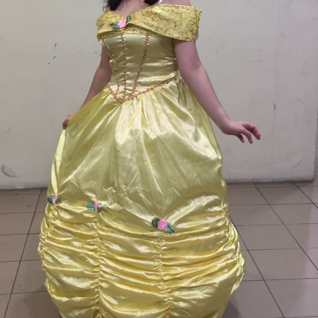 Belle Cosplay Costume Women S Fashion Clothes Others On Carousell