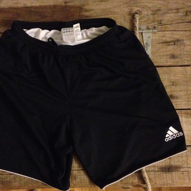 Black Adidas Climalite Gym Shorts