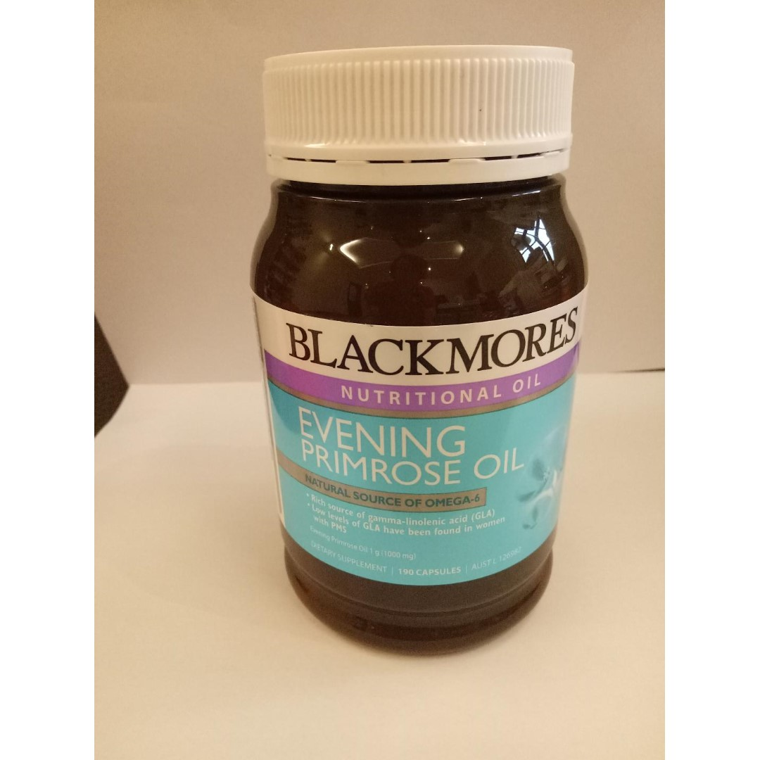 Blackmores. Evening Primrose Oil. 190 Capsules. Meet In Sg., Health & Beauty, Bath & Body on Carousell