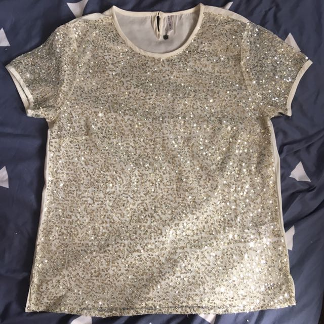 Blouse with Sequence