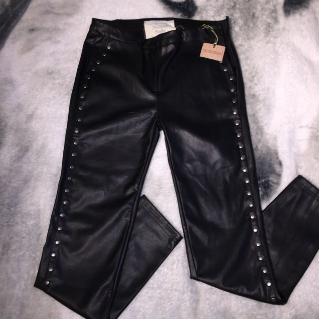 BNWT California Moonrising Faux Leather Leggings