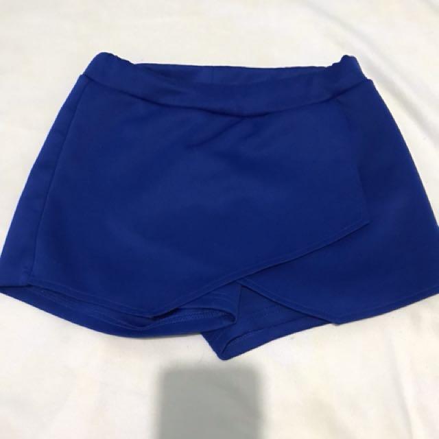 Boho Blue Shorts
