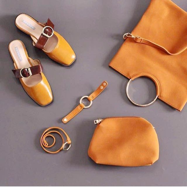 Bow bow loafers Yuan