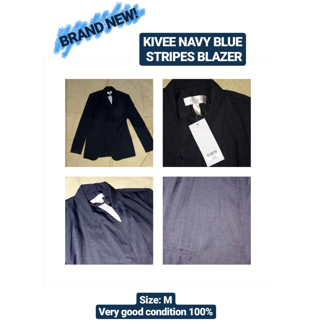 BRAND NEW! - Kivee Stripes Blazer