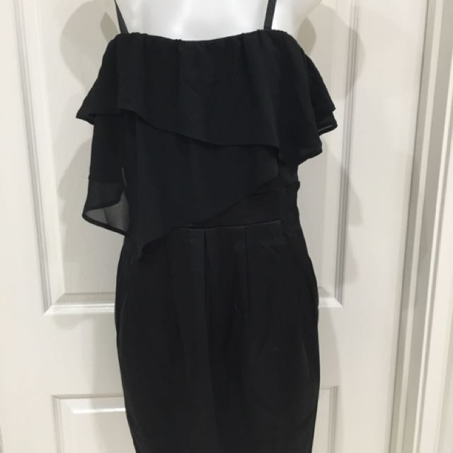 Brand new little black dress Size 8