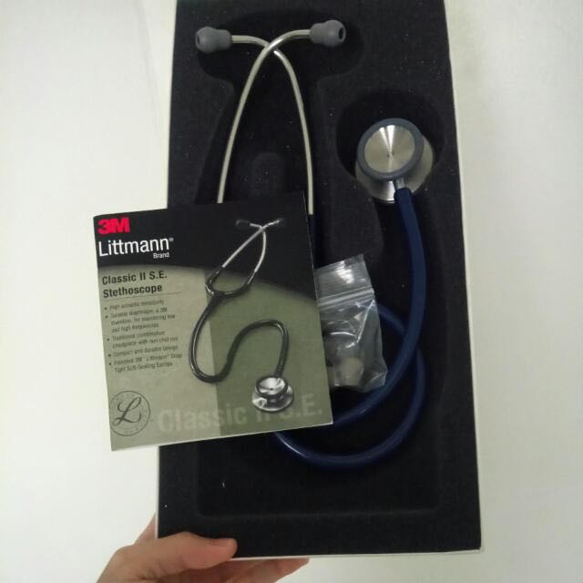 Brand New Littmann Classic II SE in Navy Blue