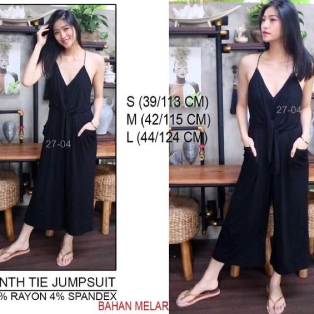 Branded ANTH TUE JUMPSUIT
