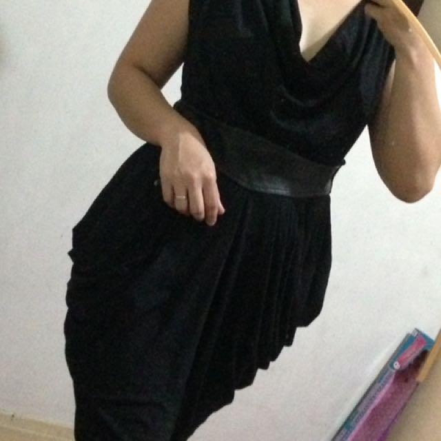 Branded Formal Black Dress