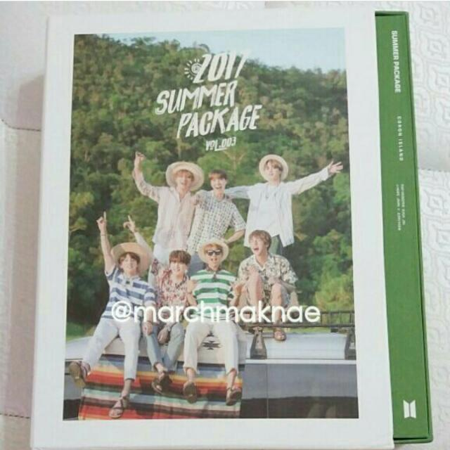 BTS 2017 SUMMER PACKAGE COMPLETE SET W/ SUGA POLAROID BOOK
