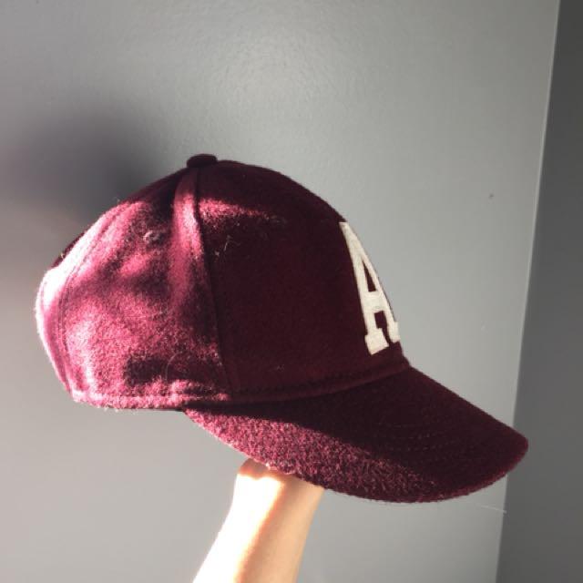 Burgandy Dad Hat