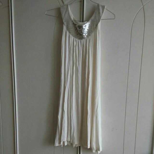 BYSI Glitter Grecian Dress