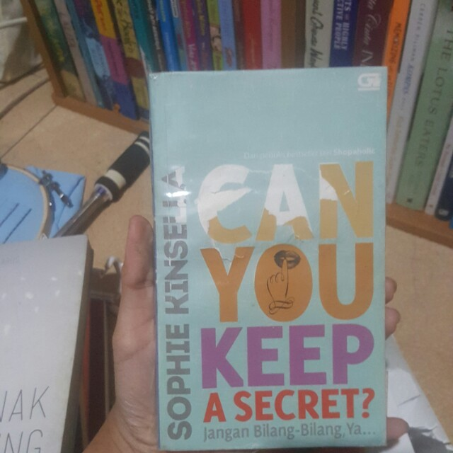 Can you keep a secret by Sophie Kinsela
