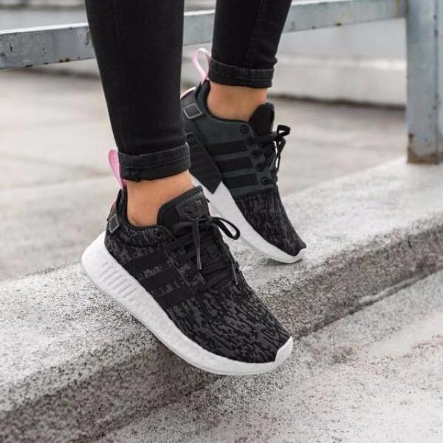 BN authentic Adidas NMD R2 Black Pink