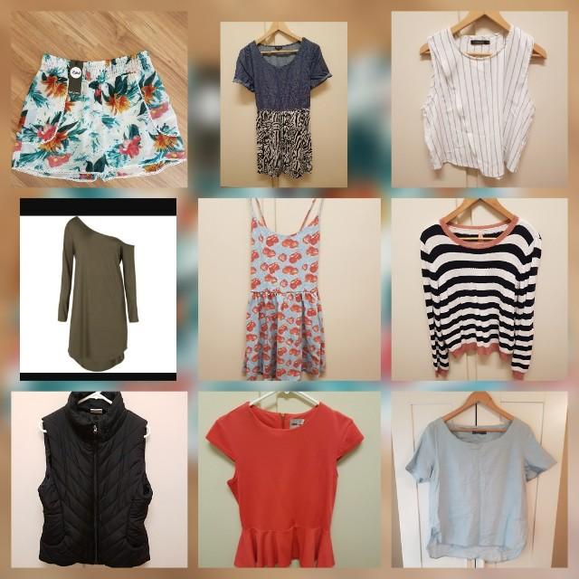 Clothes size 12 14