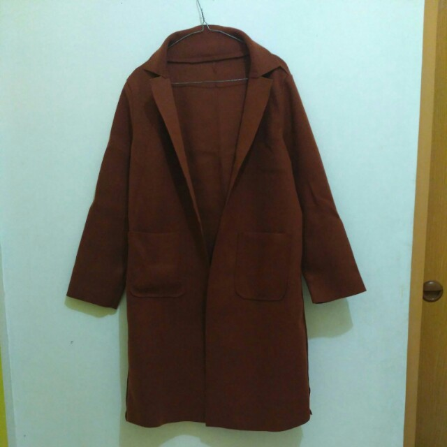 Coat Korea Coklat