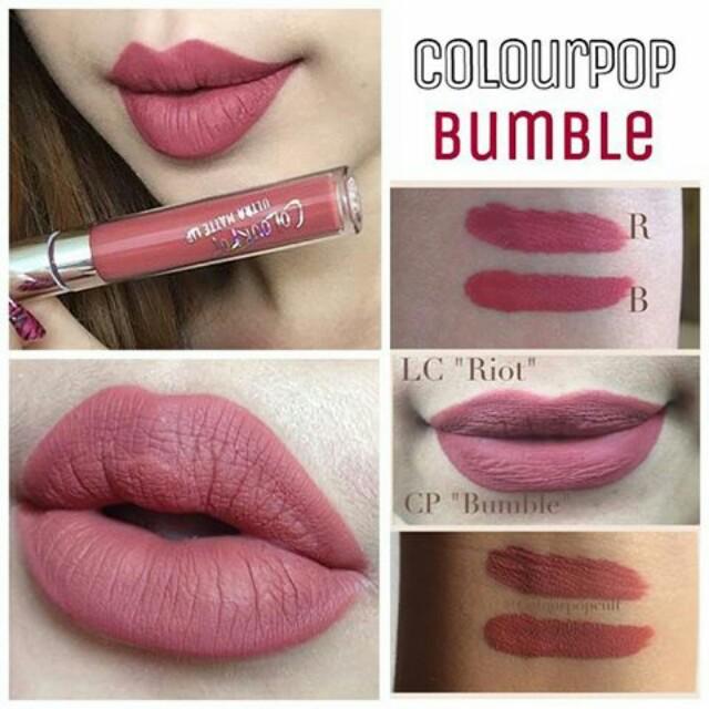 Colourpop 霧面液態唇膏bumble