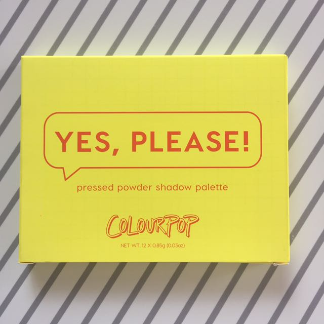 Colourpop Yes Please! Palette (2)