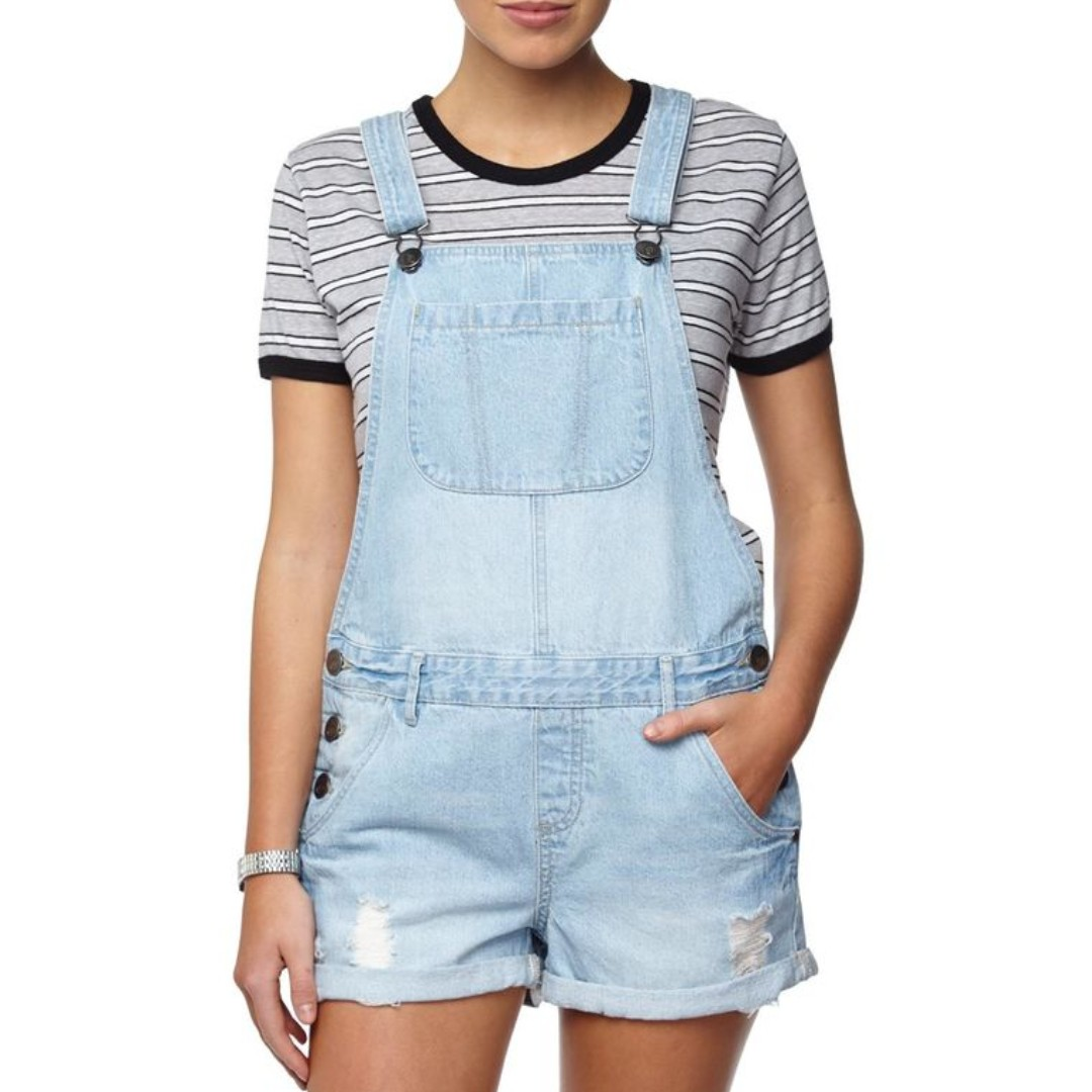 21430be34a4 COTTON ON DENIM OVERALLS (SHORT)
