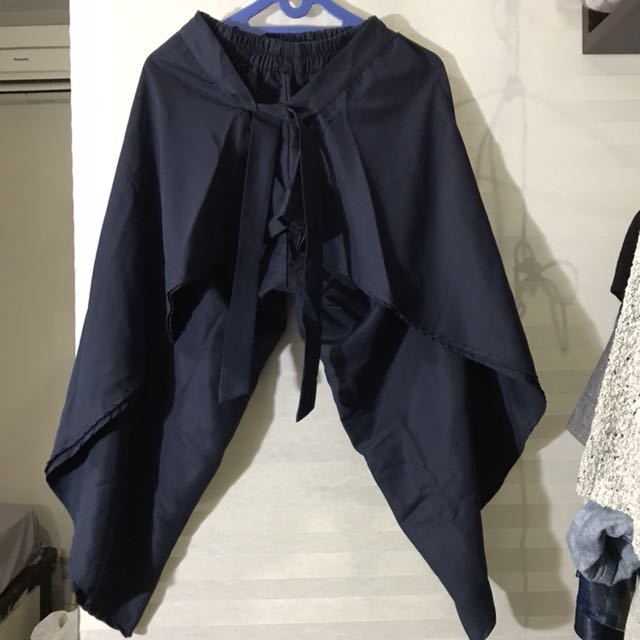 Cullote navy blue with strap