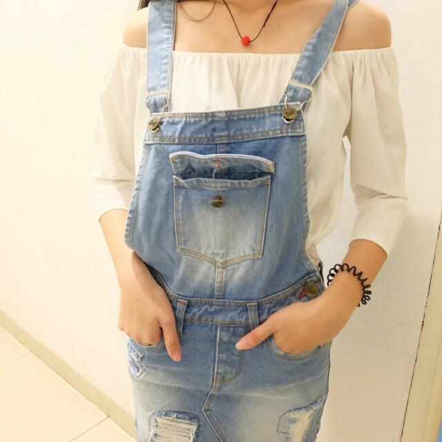Denim/jeans playsuit