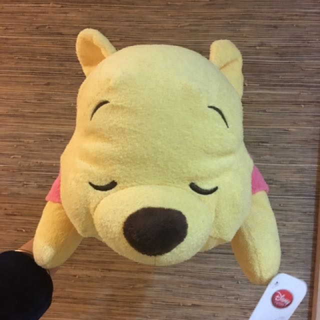 日本東京Disney親自帶回🐻趴姿維尼