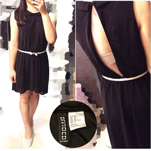 Divided Sexi Back Dress