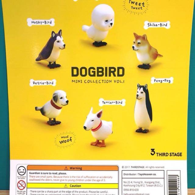 Dogbird 哈士奇換比熊