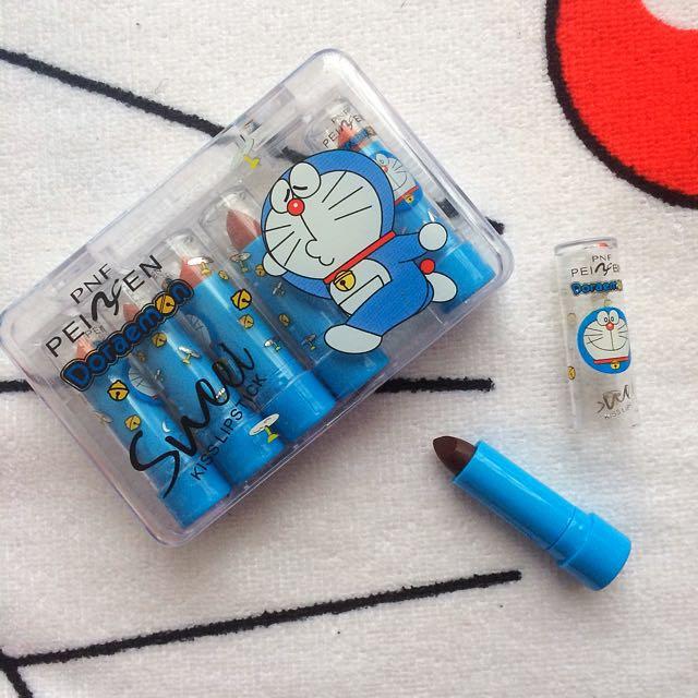 Doraemon Lipstick Sampler