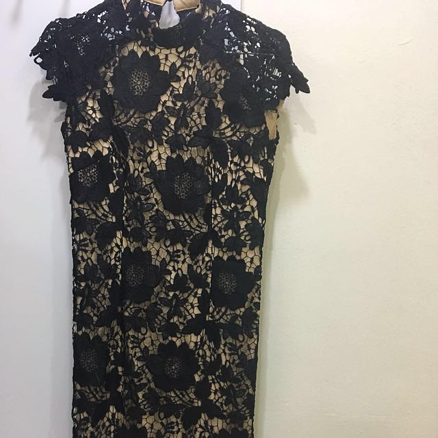 Doublewoot (Divalicious) Lace Cheongsam Dress