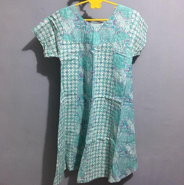 Dress Batik Tosca
